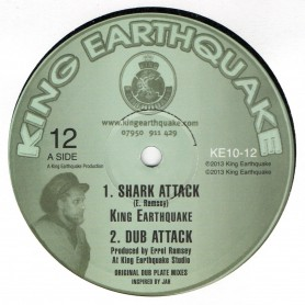 "(10"") KING EARTHQUAKE - SHARK ATTACK / TORTURE THE DEVIL"