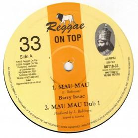 """(10"""") BARRY ISSAC - MAU MAU / DUB 1, 2 & 3"""