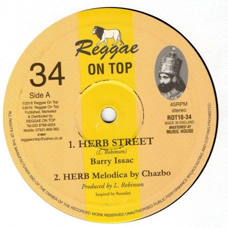"(10"") BARRY ISSAC - HERB STREET / HERB HORNS"