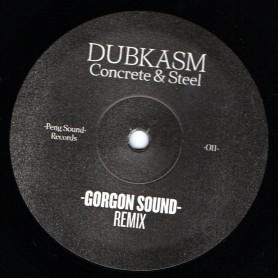 "(12"") DUBKASM - CONCRETE & STEEL / GORGON SOUND & OBF Remix"