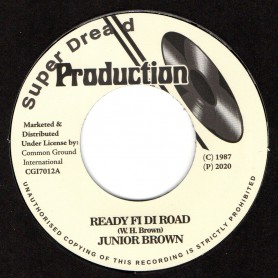 "(7"") JUNIOR BROWN - READY FI DI ROAD / VERSION"