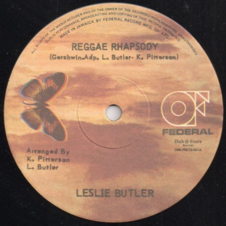 "(12"") LESLIE BUTLER - REGGAE RHAPSODY / WILLIE LINDO - MYSTIC MOOD"
