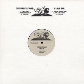 (LP) THE MEDITATIONS - I LOVE JAH