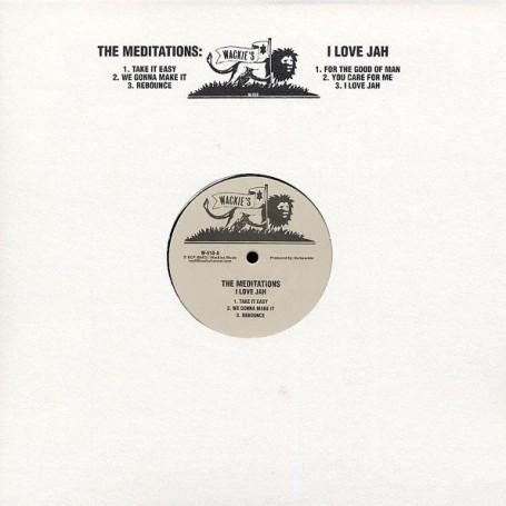(LP) THE MEDITATIONS - I LOVE JAH