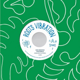 "(7"") KING MEDIOUS - THIS WORLD / THE UPSETTERS - MIDIOUS SERENADE"