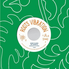 "(7"") BUNNY CLARKE - BE THANKFUL / THE UPSETTERS - DUB IN THE BACK SEAT"