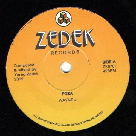 "(7"") WAYNE J - POZA / YARED ZEDEK - COMPOZA"
