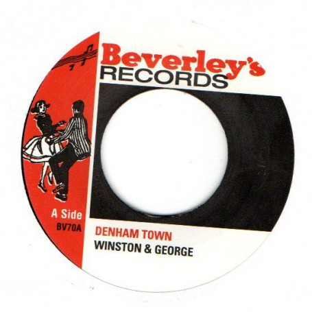 "(7"") WINSTON & GEORGE - DENHAM TOWN / KEEP THE PRESSURE ON"