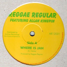 "(12"") REGGAE REGULAR - WHERE IS JAH / BLACK STAR LINER"