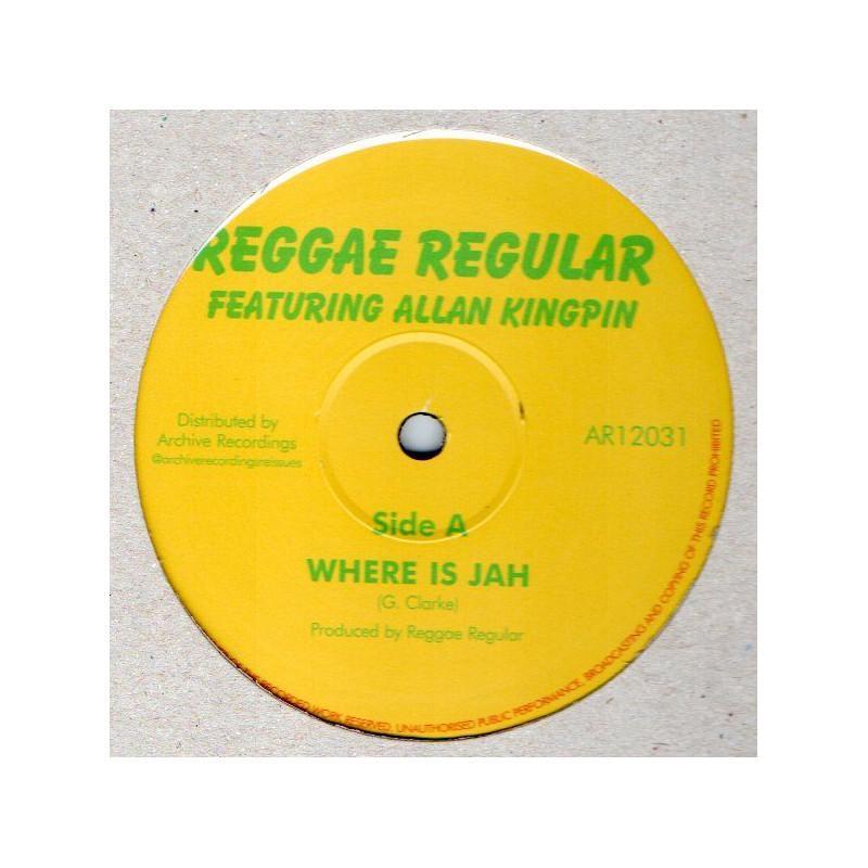"(12"") REGGAE REGULAR - WHERE IS JAH / BLACK STAR LINER"