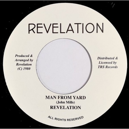 "(7"") REVELATION - MAN FROM YARD / MAN FROM YARD (VERSION)"
