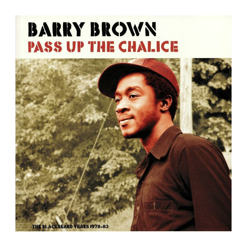 (LP) BARRY BROWN - PASS UP THE CHALICE