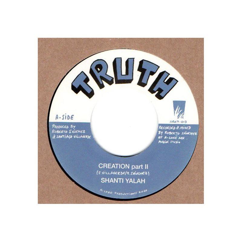 "(7"") SHANTI YALAH - CREATION PART II / WINSTON BLENDAH - WASH & CLEAN"
