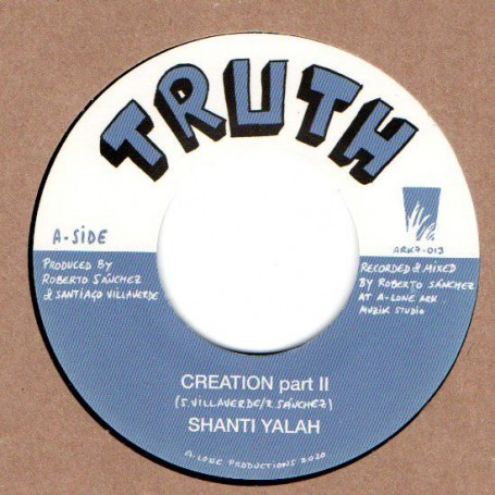 "(7"") SHANTI YALAH - CREATION PART II / WINSTON BLENDAH - WASH & CLEAN"