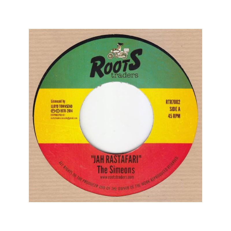 "(7"") THE SIMEONS - JAH RASTAFARI / DUB"