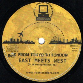 "(7"") EAST MEETS WEST - FROM TOKYO TO LONDON"