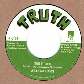 "(7"") WILLI WILLIAMS - SEE IT DEH / LONE ARK RIDDIM FORCE - CREATION IN DUB PART II"