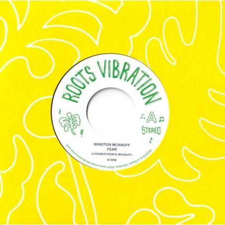 """(7"""") WINSTON MCANUFF - FEAR / FEAR DUB"""