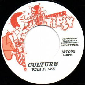 "(7"") CULTURE - WAH FI WE / VERSION"