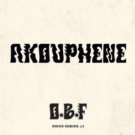 "(12"") O.B.F. - SIGNZ SERIES 1 - AKOUPHENE"