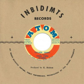 "(7"") JOHNNIE CLARKE - GOLDEN SNAKE / LITTLE CLIVE - AFRICAN BREAD"