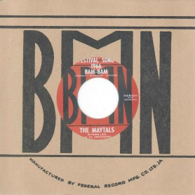 "(7"") THE MAYTALS / BAM BAM ‎– SIR LORD COMIC / SKA-ING WEST"