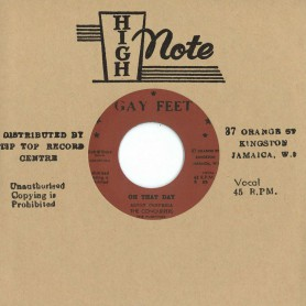 """(7"""") THE CONQUERERS THE FUGITIVES – ON THAT DAY / HERE I STAND"""