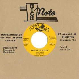 """(7"""") GLEN & DAVE - WAKE UP TO REALITY / DELANO STEWART - YOUR LOVE"""