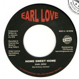 """(7"""") EARL ZERO - HOME SWEET HOME / HOME SWEET HOME DUB"""