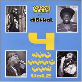 (LP) CONSCIOUS SOUNDS PRESENTS 4 THE HARD WAY VOLUME 2