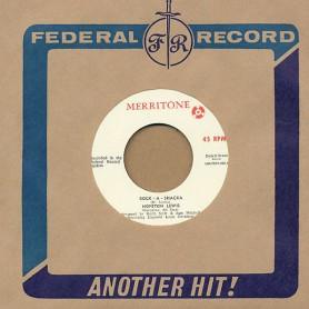 "(7"") HOPETON LEWIS - ROCK A SHACKA / I DON'T WANT TROUBLE"