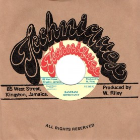 "(7"") SISTER NANCY - BAM BAM / KING TUBBYS - STALAG VERSION"