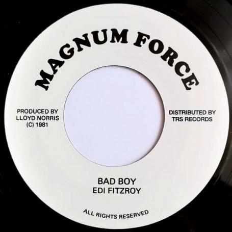 """(7"""") EDI FITZROY - BAD BOY / VERSION"""