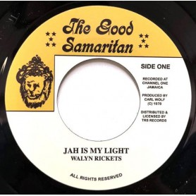 "(7"") WALYN RICKETS - JAH IS MY LIGHT / VERSION"