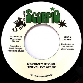 "(7"") DIGNITARY - STYLISH - TEK YOU EYE OFF ME / VERSION"