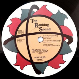 "(12"") FRANKIE PAUL - DON'T PRESSURE ME / GRAMMY"