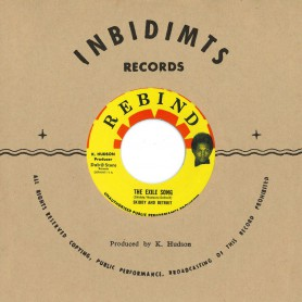 "(7"") SKIDDY AND DETROIT-  THE EXILE SONG / BUNNY GALE ‎– IN THE BURNING SUN JOH-HO"