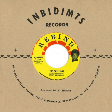 """(7"""") SKIDDY AND DETROIT- THE EXILE SONG / BUNNY GALE – IN THE BURNING SUN JOH-HO"""