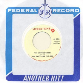 """(7"""") LYNN TAITT AND THE JETS – THE UNTOUCHABLES / PEPPER POT"""