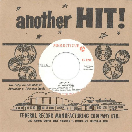 "(7"") THE RENEGADES - MR. HOPS / OSWALD SEWELL ‎- OH MY LOVE"