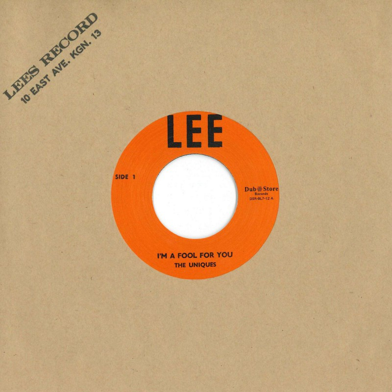 """(7"""") THE UNIQUES - I'M A FOOL FOR YOU / LESTER STERLING – SUPER SPECIAL"""