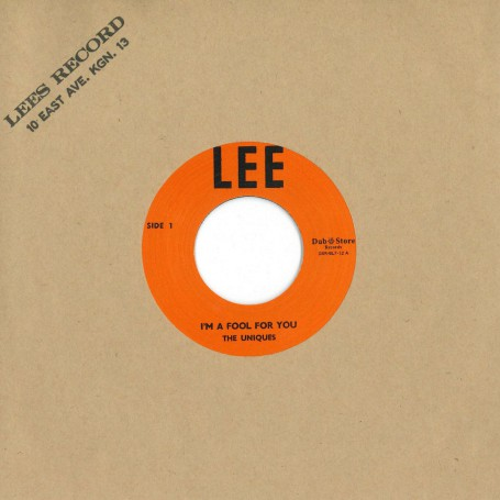 "(7"") THE UNIQUES - I'M A FOOL FOR YOU / LESTER STERLING ‎– SUPER SPECIAL"