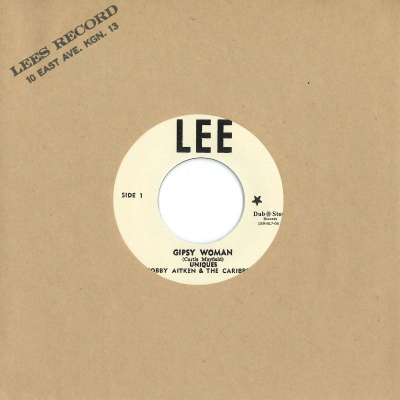 """(7"""") UNIQUES, BOBBY AITKEN & THE CARIBBEAT – GIPSY WOMAN / NEVER LET ME GO"""
