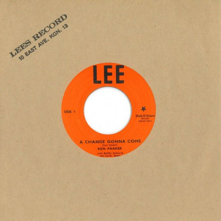"(7"") KEN PARKER WITH BOBBY AITKEN & THE CARIB BEATS - A CHANGE GONNA COME / VAL BENNETT ‎– JUMPING WITH VAL"