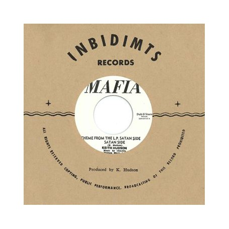 """(7"""") KEITH HUDSON - THEME FROM THE L.P. SATAN SIDE / EARL FLUTE & HORACE ANDY – PETER & JUDAS"""