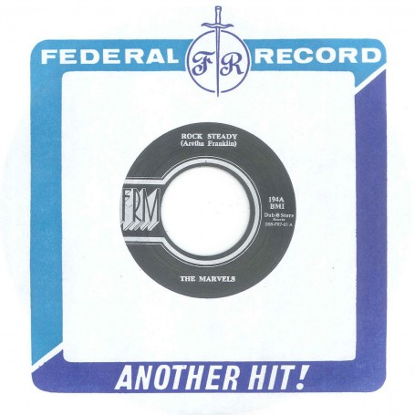 """(7"""") THE MARVELS- ROCK STEADY / LLOYD CHARMERS – TRAVELLING ON"""