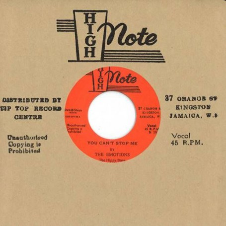 "(7"") THE EMOTIONS, THE HIPPY BOYS ‎– YOU CAN'T STOP ME / THE STORM"