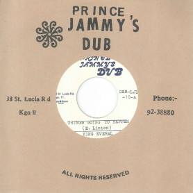 """(7"""") KING EVERAL – THINGS GOING TO HAPPEN / THINGS GOING TO HAPPEN DUB"""