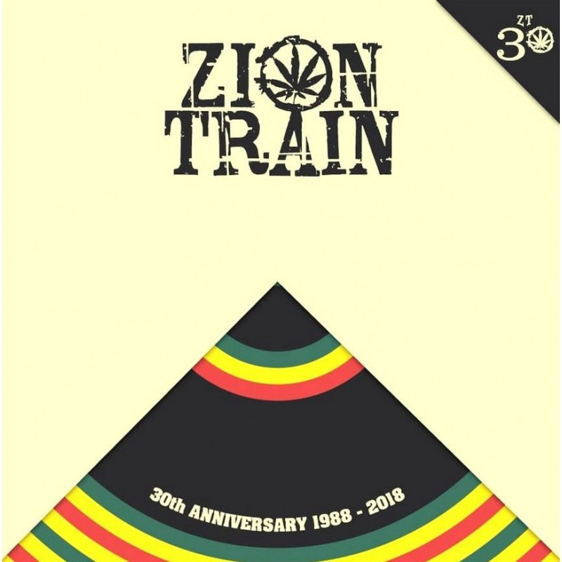 (LP) ZION TRAIN - 30th ANNIVERSARY 1988 - 2018