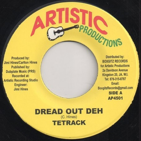 "(7"") TETRACK - DREAD OUT DEH / DREAD DUB"